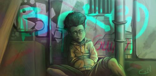 Bored Boy by Megachrome