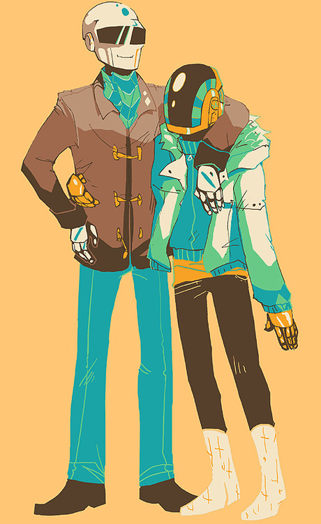 oh hey more daft punk by i-s-p