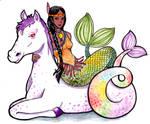 American Indian Mermaid