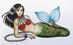 A Slave Mermaid-Art trade with Orcaking