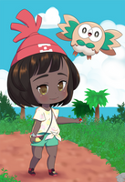 Rowlet Poster by Seraphinae