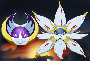 Eclipse [Pokemon Poster] by Seraphinae