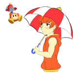 Kirby Guest Star Allies - Parasol Waddle Dee
