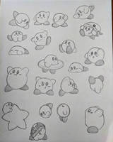Kirby sketches by Seraphinae