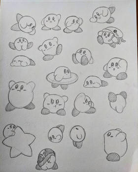 Kirby sketches