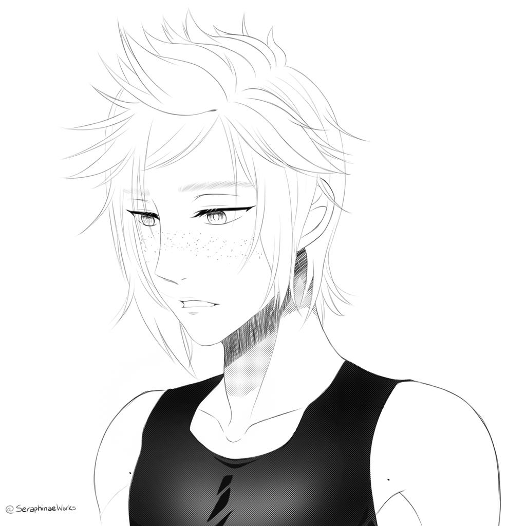 Prompto by Seraphinae