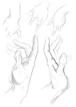 See How I Draw: Hands II
