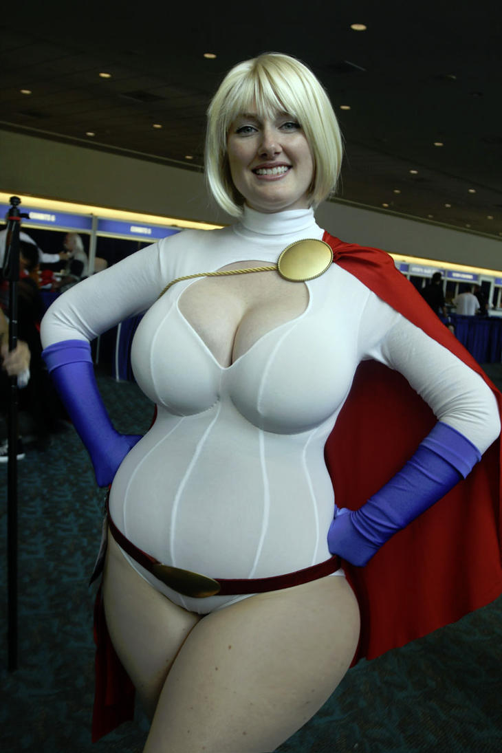 Another Plump Power Girl by blackwingedcanti