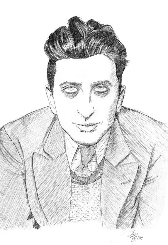 Robert Desnos by Demontales