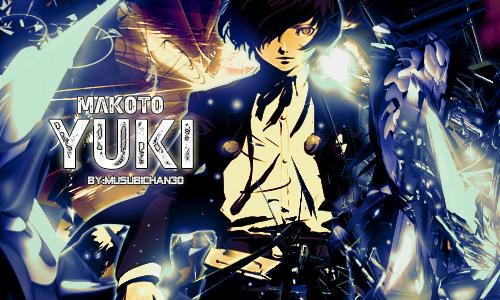 Makoto Yuki by Musubichan30
