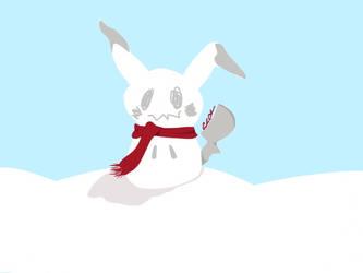 Mimikkyu Snowman