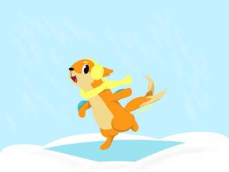 Ice Skating Buizel