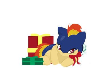 Christmas Quilava