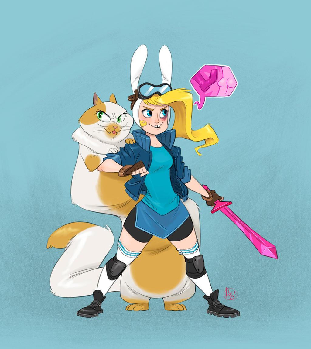 furry ... Fionna+Cake by furry-bob
