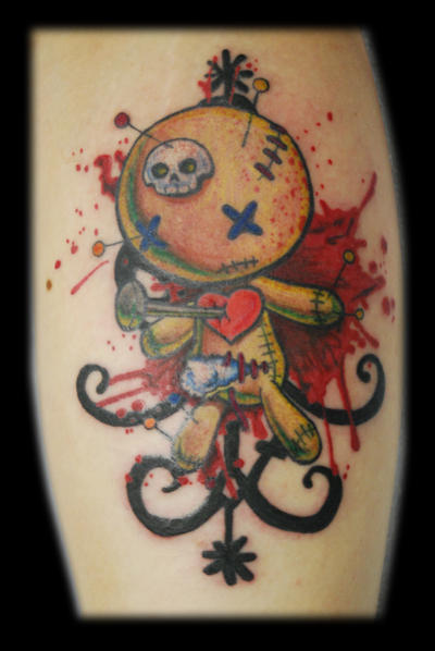 Voodoo Doll Tattoo by ~Omedon on deviantART