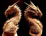 Dragon Bust unpainted shots