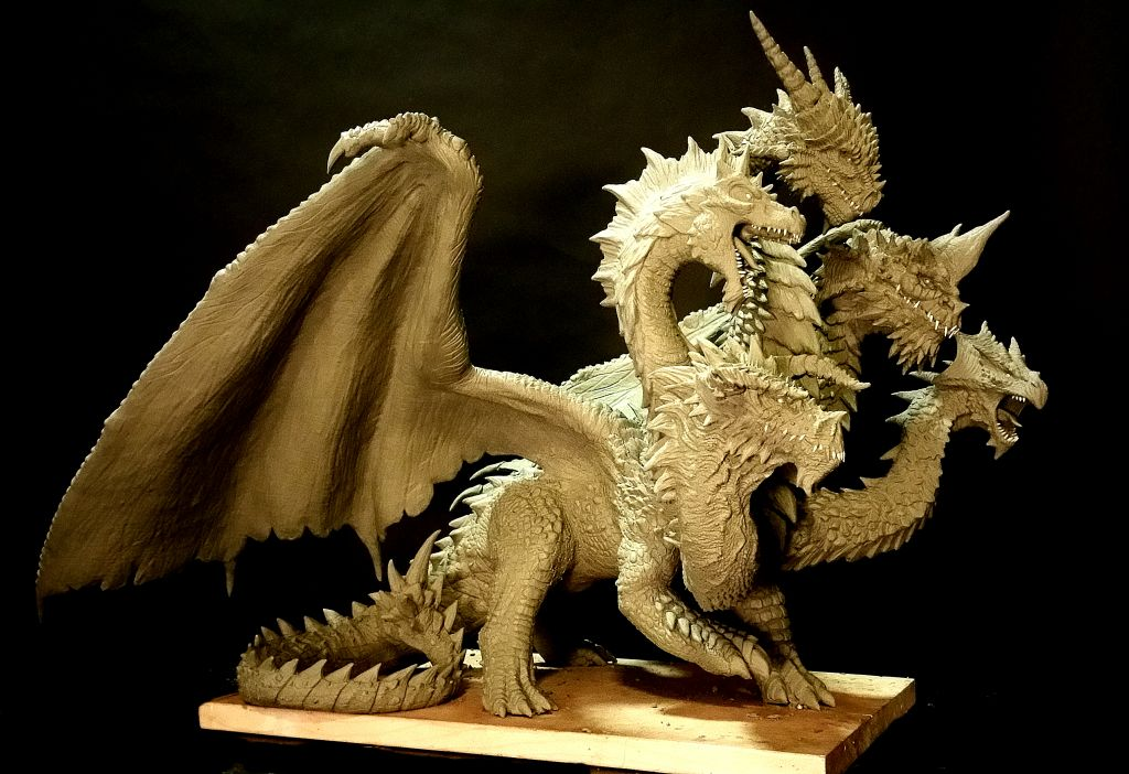 5_headed_dragon_statue_wip_by_fritofrito