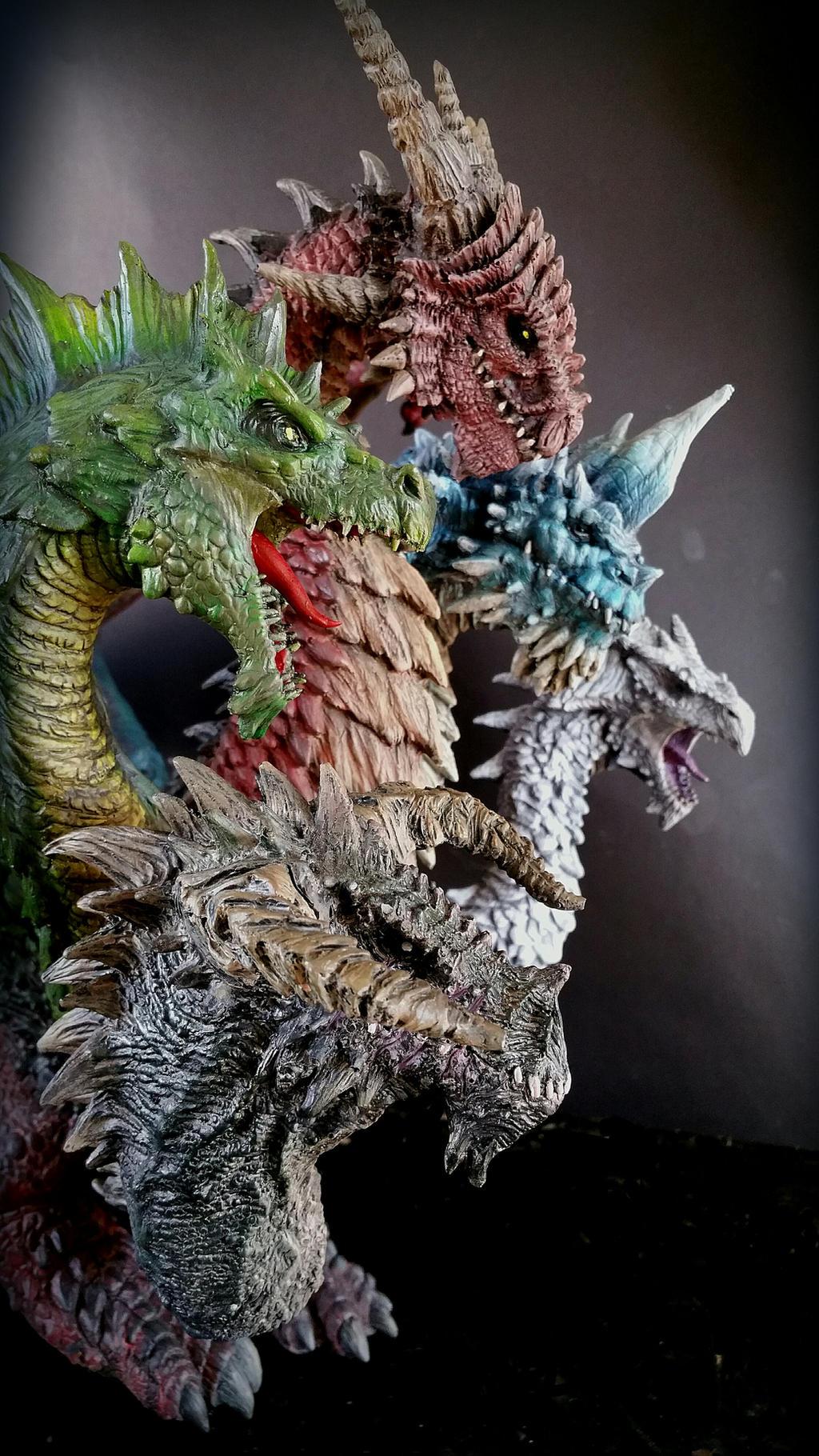 5 headed dragon kit by FritoFrito on DeviantArt - photo#10