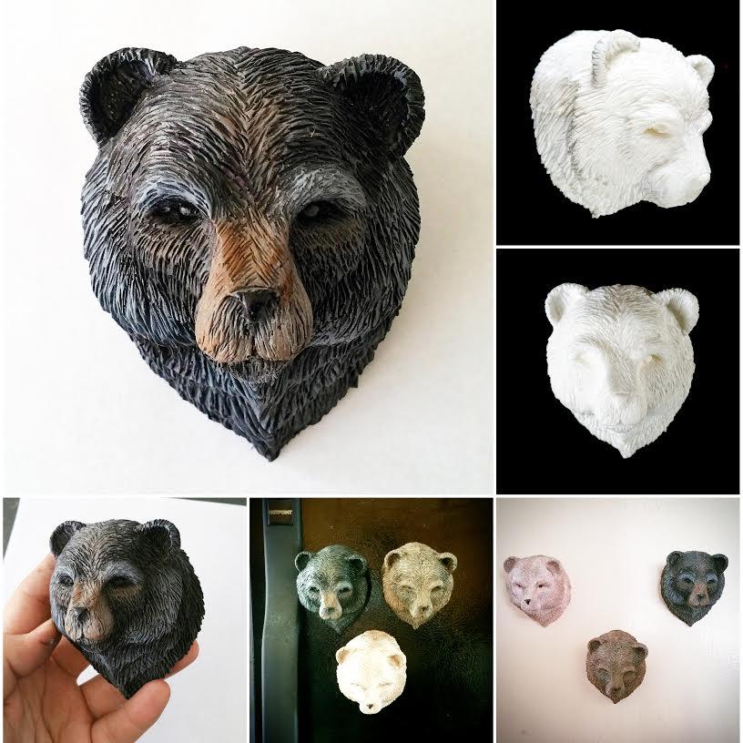 Bear Magnets! by FritoFrito