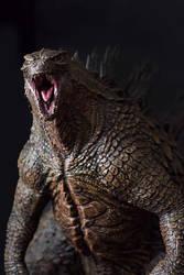 1/100th Scale Godzilla 2014 Statue