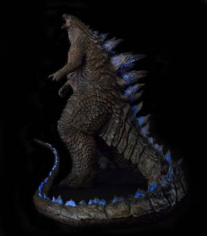 1/100th Scale Godzilla 2014 Statue full body