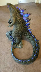 Godzilla 1:100 scale by FritoFrito