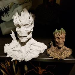Mini Grooooot busts. by FritoFrito