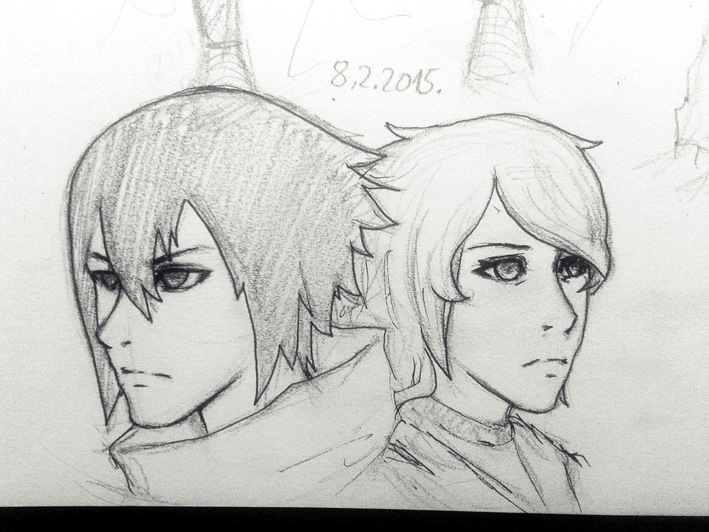 Sasuke n Susumi Reunited by xxsashkaxx