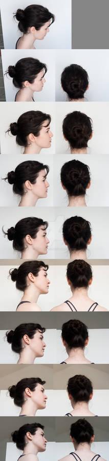 Head Turnaround - Top to Bottom Profile