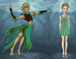 The Little Mermaid Costumes - Undine by RobynRose