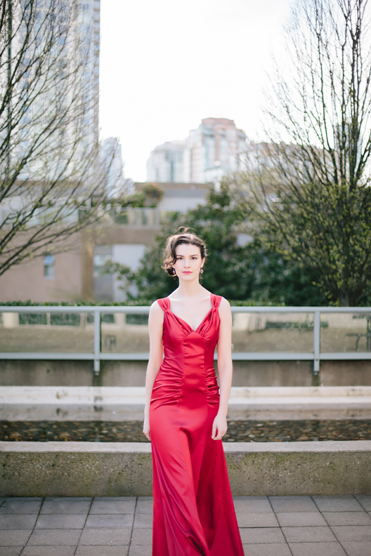 Woman in Red by RobynRose