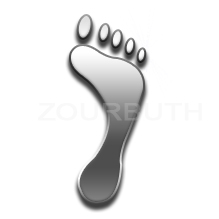 Footprint by zourbuth