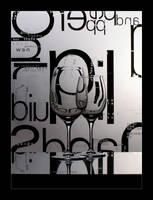 Wine Glass Kaleidoscope by GVA