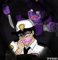 Trust me Mark. I'm the Purple Gu- I mean Phone Guy by HommicidalPenguinsCo