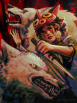 Princess Mononoke by foureyed-fox