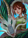 Spirited away by foureyed-fox