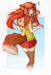 Firefox-tan by Mayliu