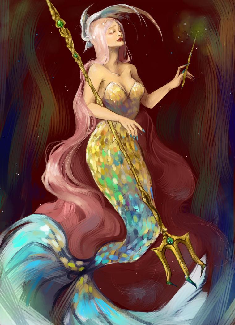 Queen by letrangechat