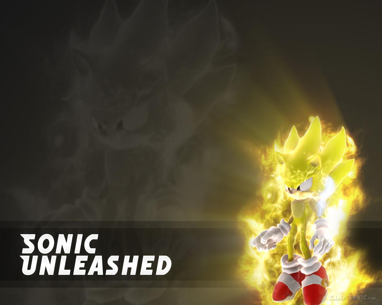 Super Sonic Sonic Unleashed By Animefan4eternity On Deviantart
