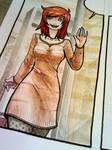 Watercolor coloring
