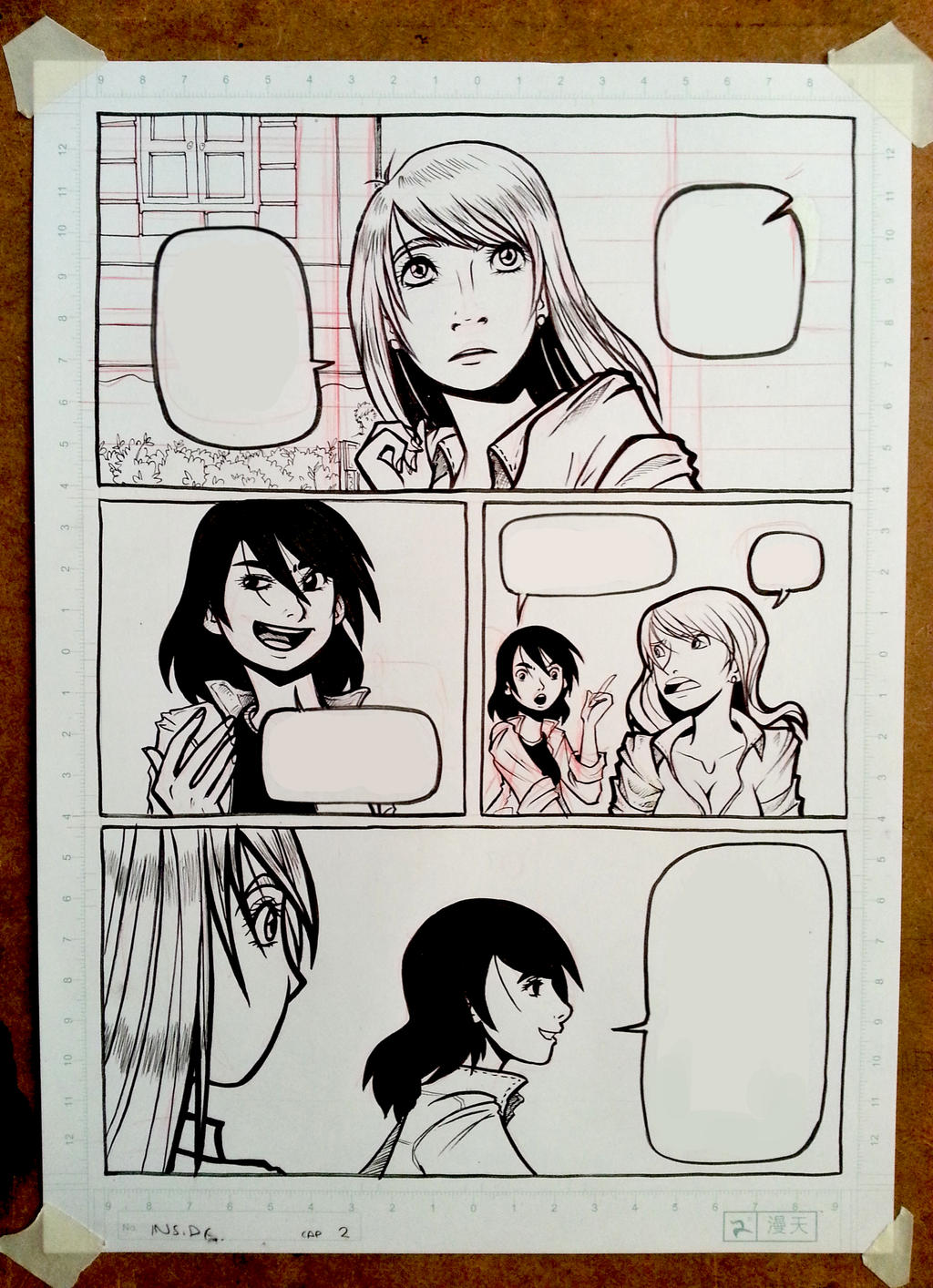 More new comic pages.