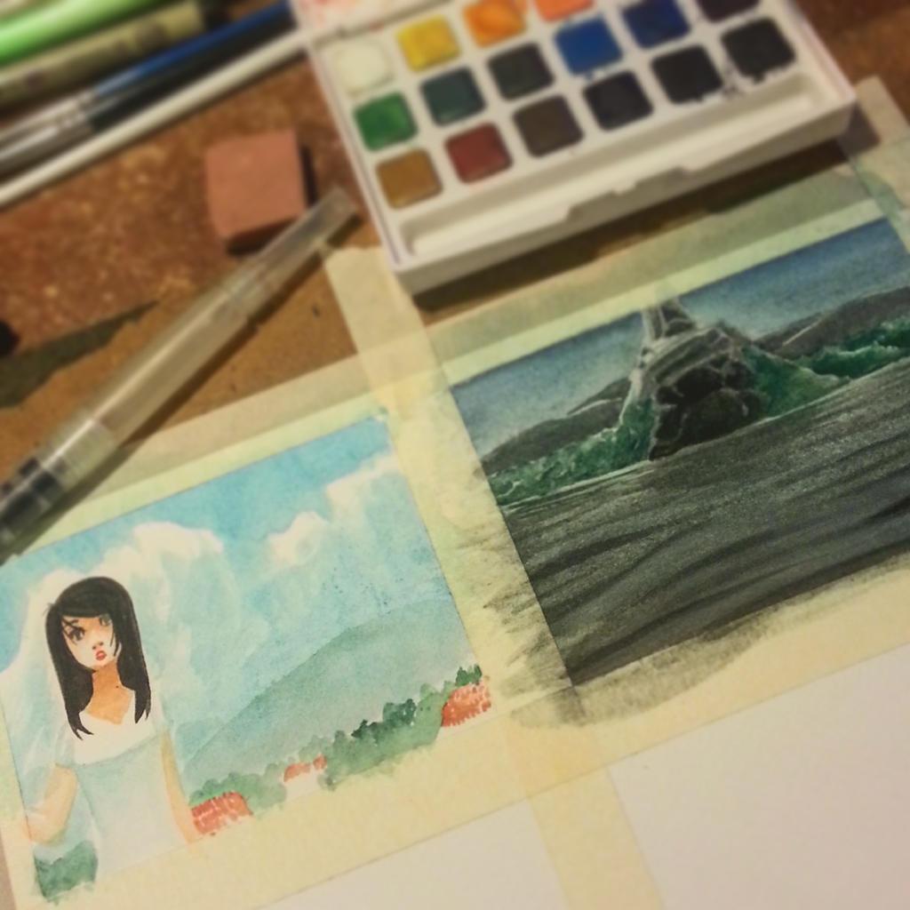 Weekend Watercolors