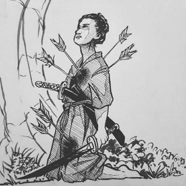 Samurai by pepevargas