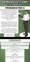 German lessons - Pronunciation II