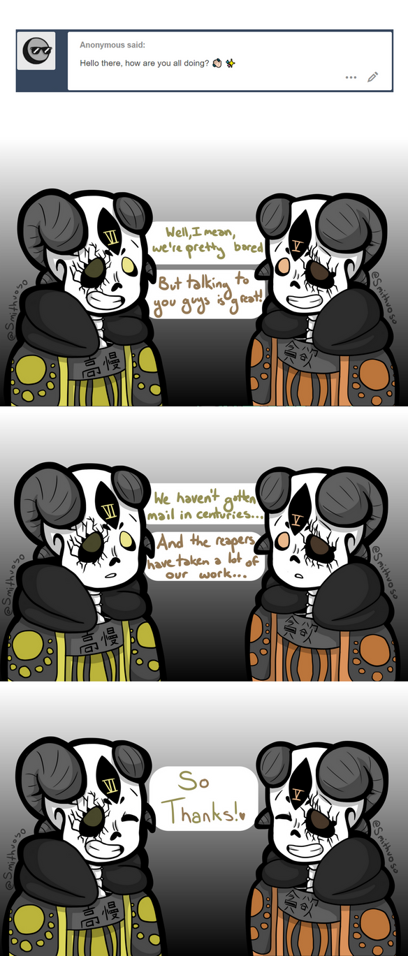 Ask the Sinful Seven! #2 by Smithuoso