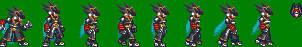 Megaman Sprite Model Colonel by axem-slayer-345