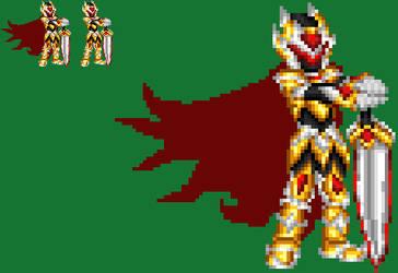 Cyber Knight Azul Limiter Form by axem-slayer-345