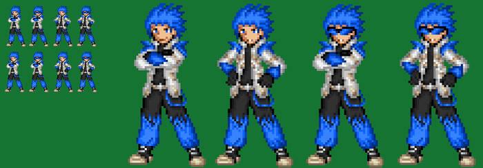 Cyber Knight Azul No armor