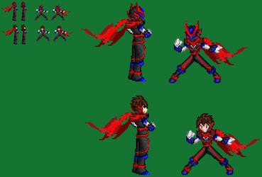 Cyber Knight Phazzon Full armor by axem-slayer-345