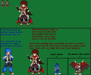 Cyber Knight Kasai No Armor by axem-slayer-345